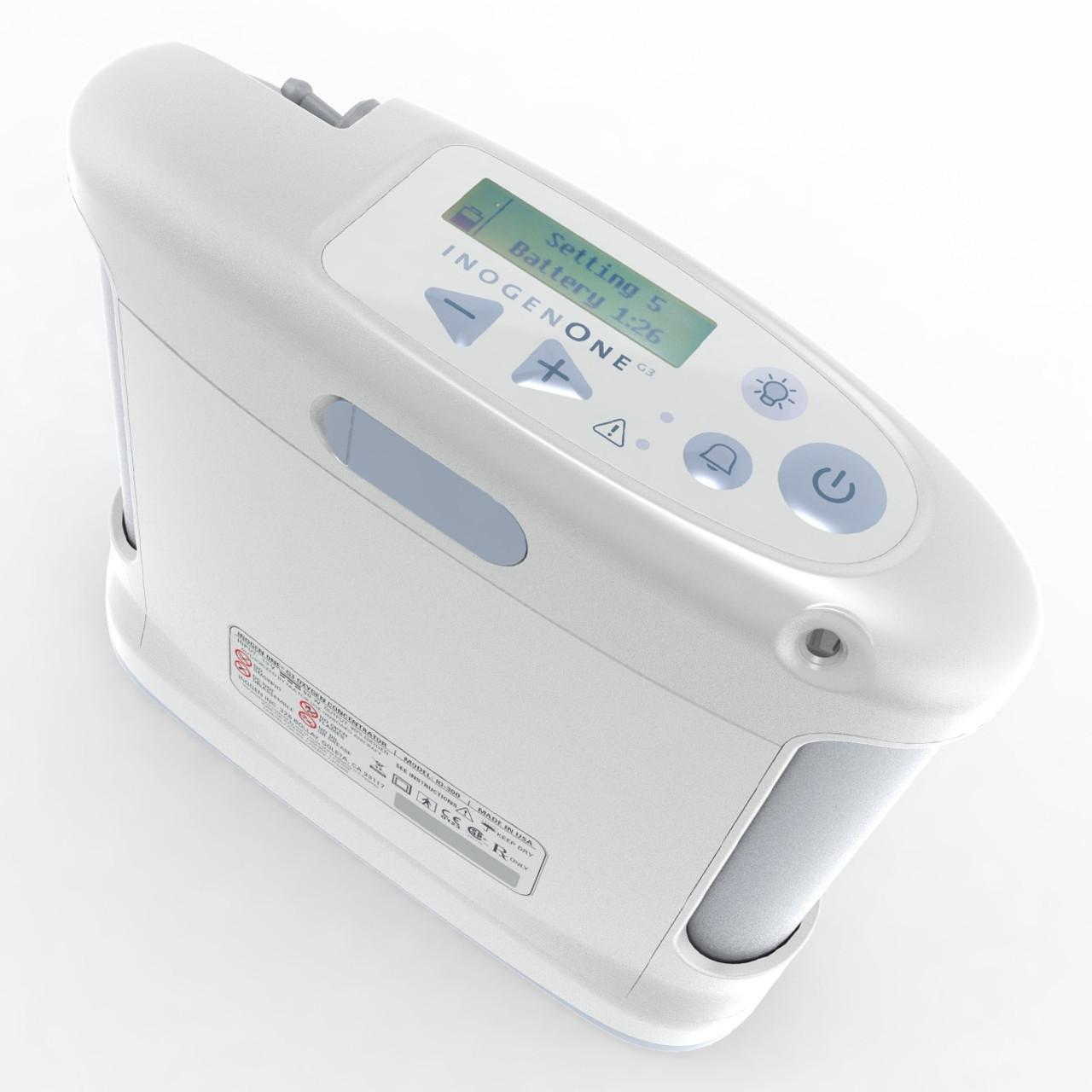 Inogen One G3 Portable Oxygen Concentrator - Manufacturer Refurbished