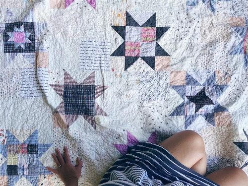 MEMORY QUILT - Little Miss Sawtooth