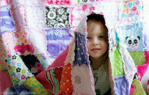 MEMORY QUILT - Rag Quilts