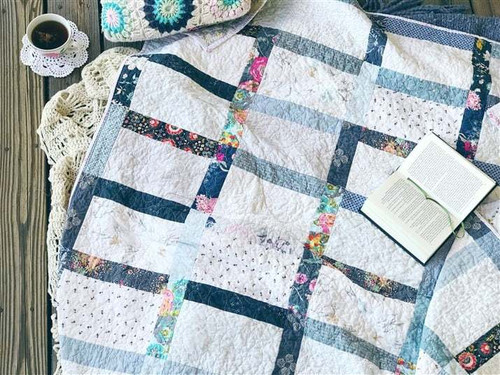 Modern Traditional Quilt - Good Girl