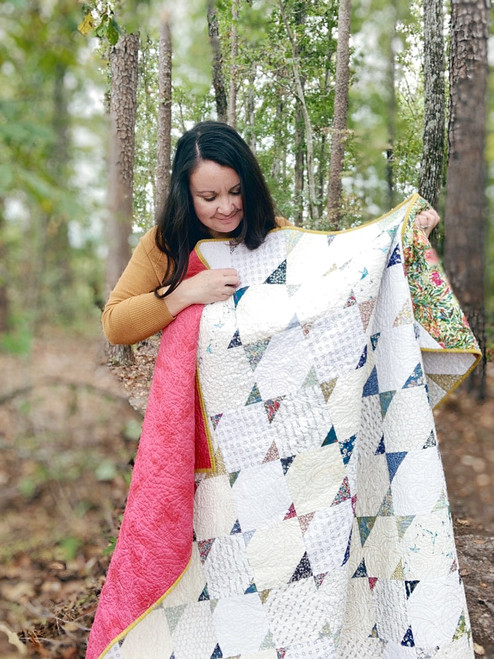 Modern Traditional Quilt - Migration