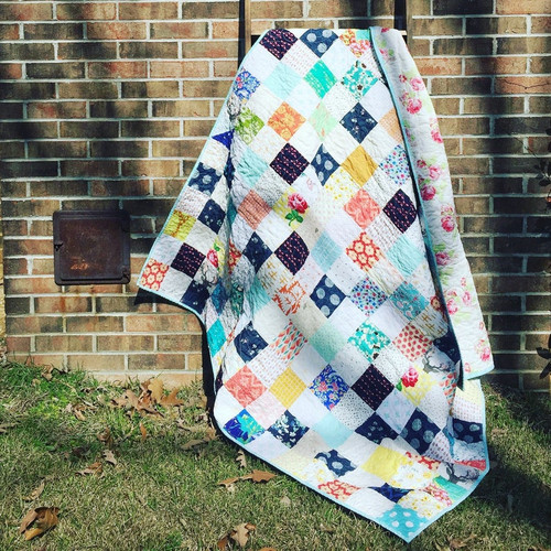 Basic Patchwork Quilt
