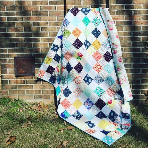 Basic Patchwork Quilt