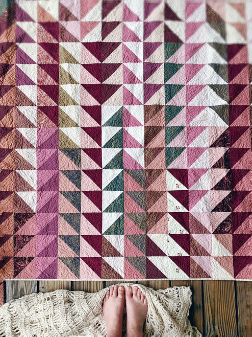 Modern Traditional Quilt - Tea Time