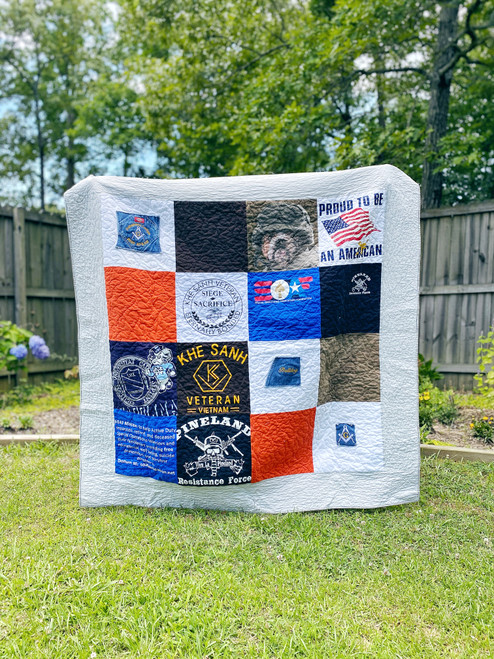 MEMORY QUILT - Teen-Adult Tshirt Quilt