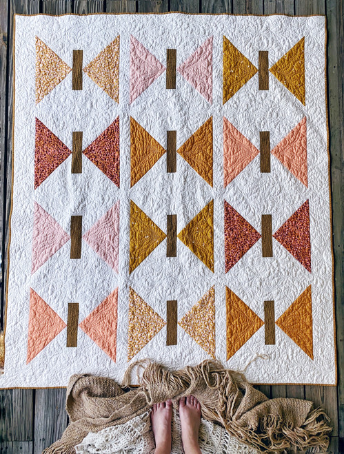 Mariposa Quilt - Citrus - READY TO SHIP