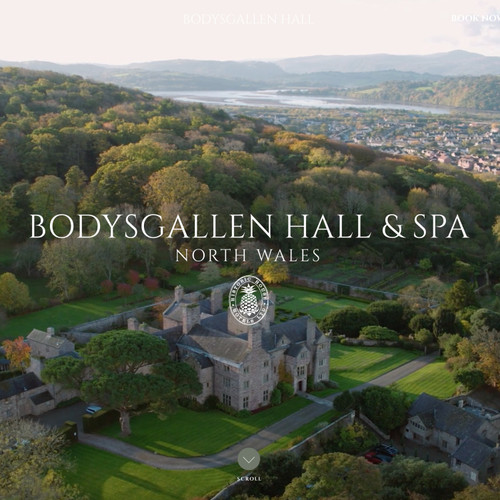 Book your Bioslimming Active Wrap and the 5DfromParis Facial at Bodysgallen !