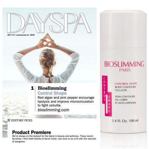 Bioslimming Control Shape is in July's  Product Premiere of Dayspa Magazine!