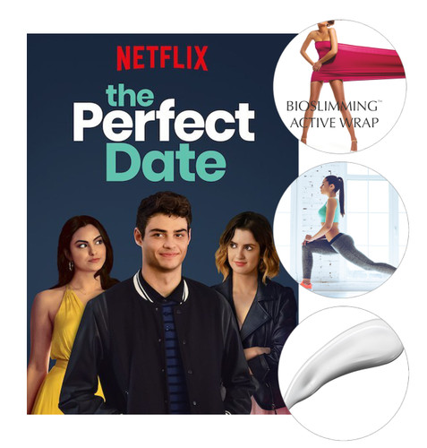 """Bioslimming Active Wrap mentioned in The Movie """"The Perfect Date"""""""