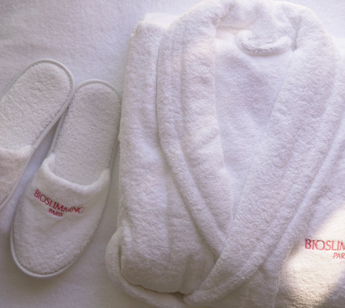 BIOSLIMMING ROBE WITH SLIPPERS
