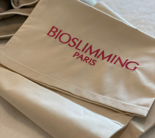 BIOSLIMMING NECK WRAP COVER 100% NATURAL LINEN