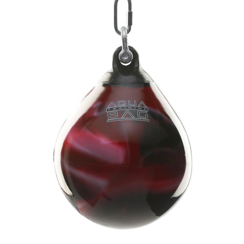 Aqua Headhunter Punching Bag Black and Red 35lb