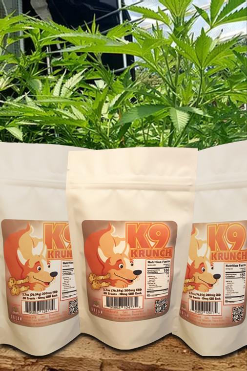 Wholesale Peanut Butter CBD K9 Treats