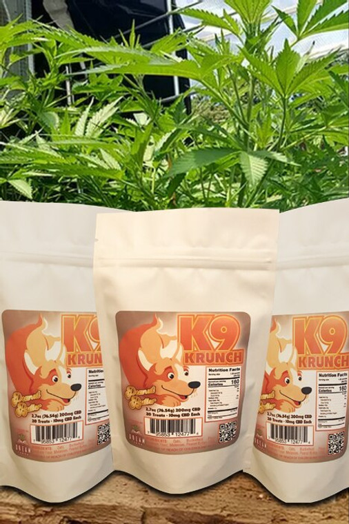 Peanut Butter CBD K9 Treats - Retail