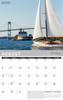 2021 New England Wall Calendar - August