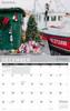 2021 New England Wall Calendar - December