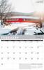 2021 New England Wall Calendar - February