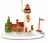 Lighthouse with Sailboat  Ornament