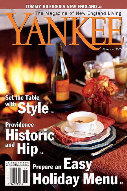 Yankee Magazine November 2005 (PDF Download)