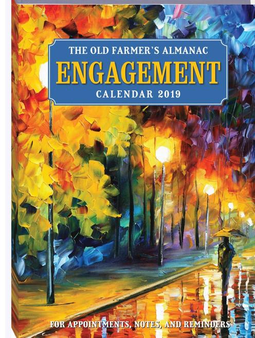 The 2019 Old Farmer's Almanac Engagement Calendar