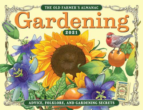 2021 Old Farmer's Almanac Gardening Calendar