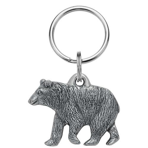 Danforth Pewter Black Bear  Keyring