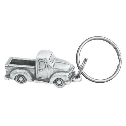 Danforth Pewter Old Pickup Truck Keyring