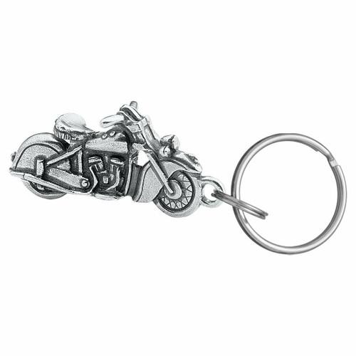 Danforth Pewter Vintage Motorcycle Keyring