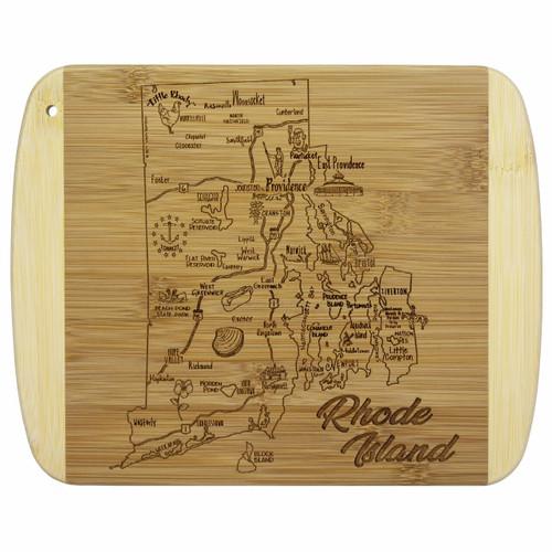 Slice of Life Rhode Island Cutting Board