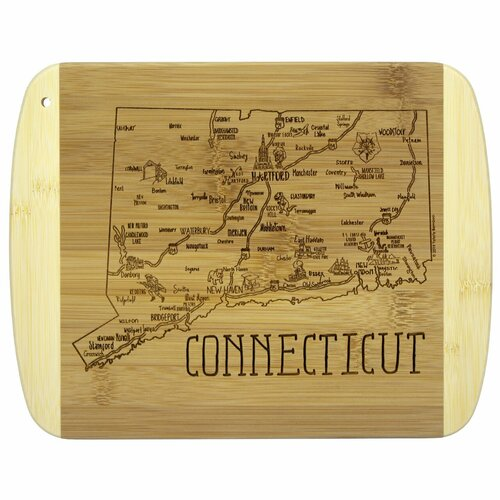 Slice of Life Connecticut Cutting Board