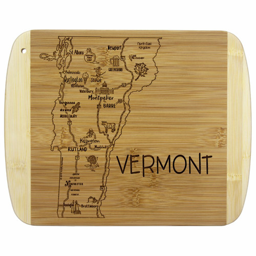 Slice of Life Vermont Cutting Board