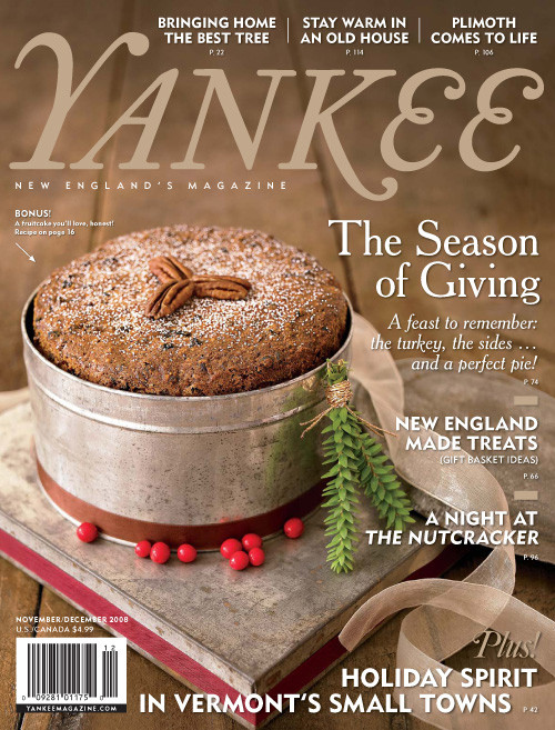 Yankee Magazine November/December 2008 (PDF Download)