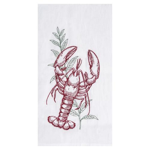 Lobster Seagrass Kitchen Towel