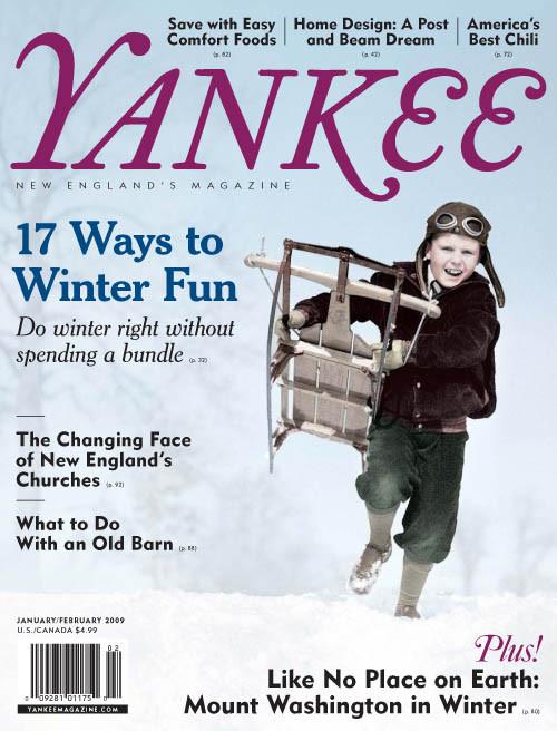 Yankee Magazine January/February 2009 (PDF Download)
