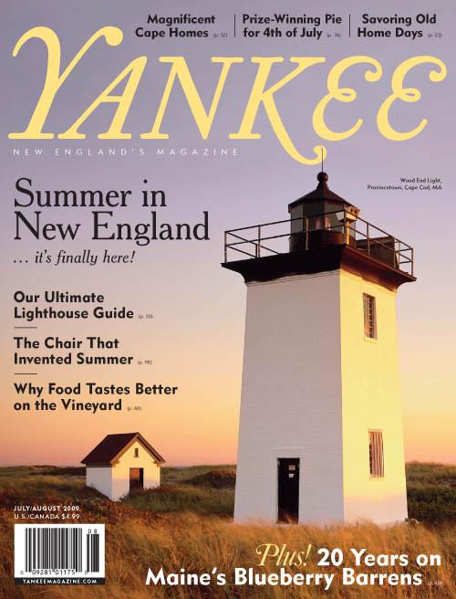 Yankee Magazine July/August 2009 (PDF Download)