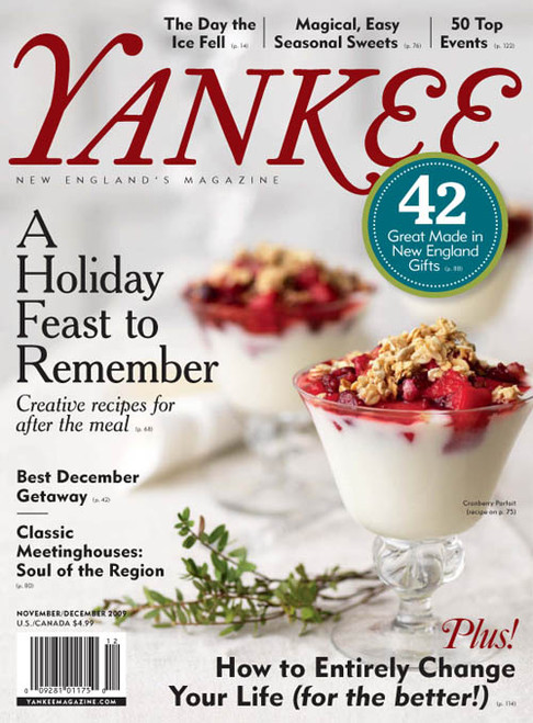Yankee Magazine November/December 2009 (Online Edition)