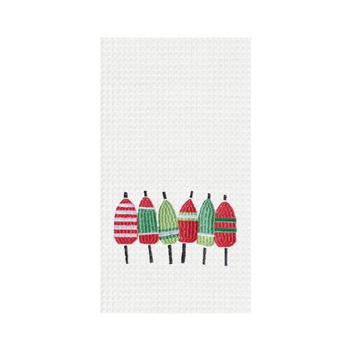 Holiday Buoys  Kitchen Towel