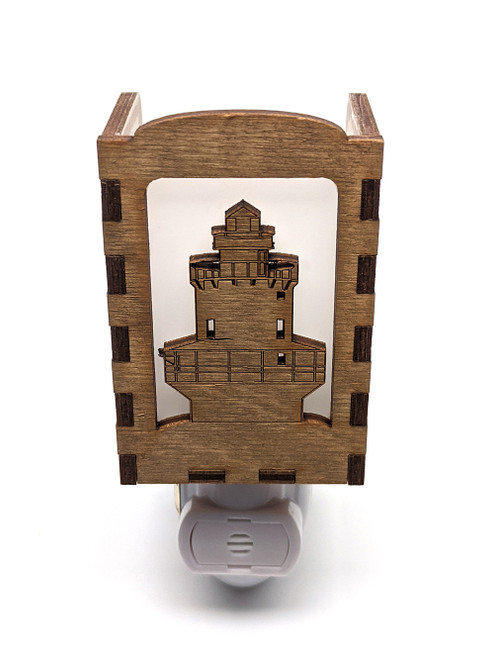 Wooden Night Lights - Spring Point Ledge Lighthouse