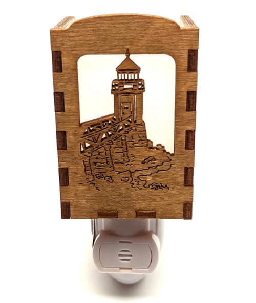Wooden Night Lights - Marshall Point Lighthouse