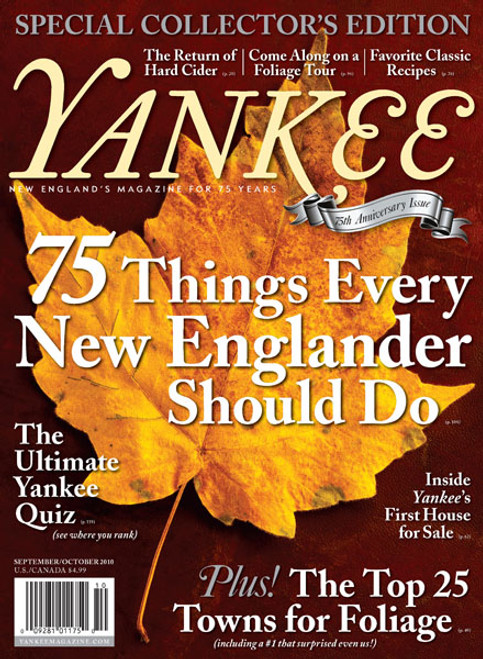 Yankee Magazine September/October 2010 (Online Edition)