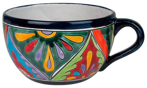 Mexican Talavera Coffee Cup