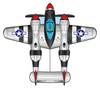 Xkites - Airwatch series P-38 Lighting