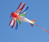 Premier Kites -  Rainbow Biplane Airplane Kite