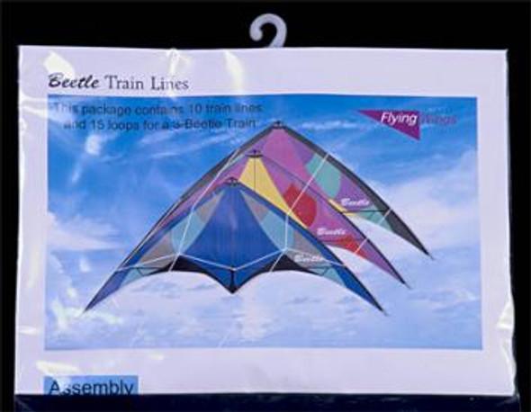 Flying Wings - Beetle train lines
