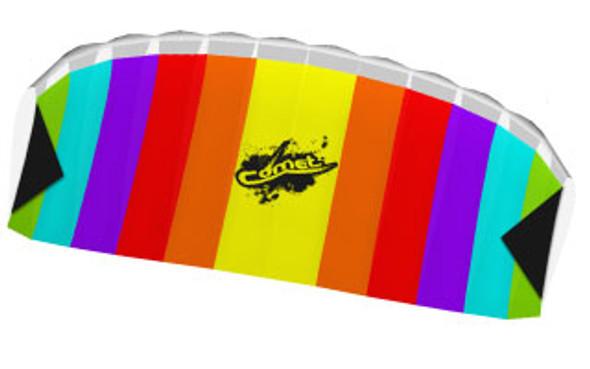 """HQ Kites - Eco: Stunt Foil """"Comet Rainbow"""""""