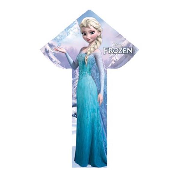 """WindnSun - BreezyFliers """"Frozen""""  Delta kite"""