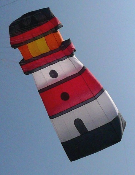 Gomberg Kite - Lighthouse Inflatable