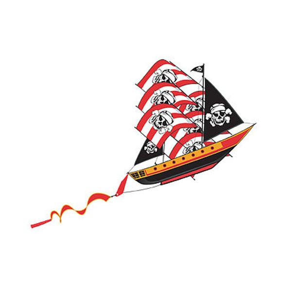 "WindnSun kites - SuperSize ""Pirateship"""