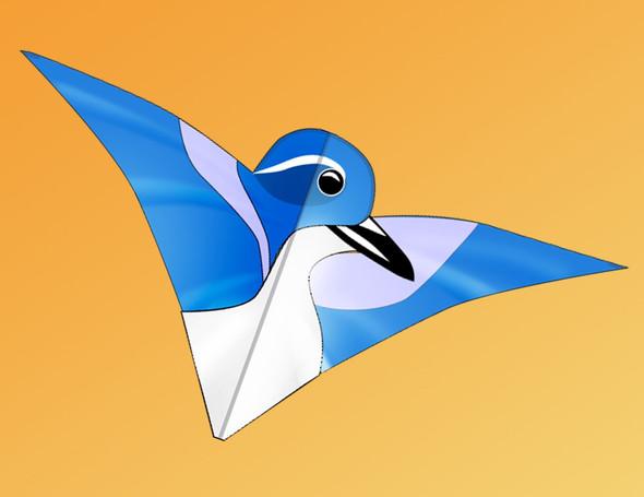 "Gomberg Kites - Gom-Birds ""Western Scrub Jay"""