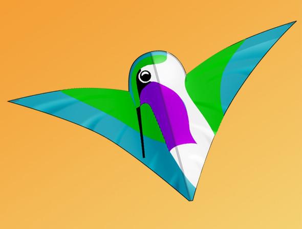 "Gomberg Kites - Gom-Birds ""Hummingbird"""